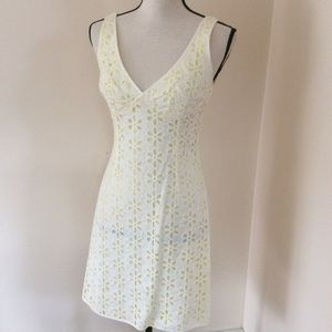 Nanette Lenore Eyelet Dress Sz 4